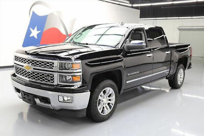 2014 Chevrolet Silverado 1500 LTZ Crew Cab Pickup 4-Door 2014 CHEVY SILVERADO LTZ CREW 4X4 LEATHER REAR CAM 39K #532382 Texas Direct Auto
