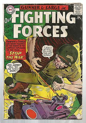 Our Fighting Forces 90 Feb 1965 DC Comics