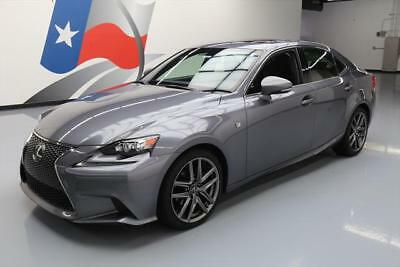 2014 Lexus IS  2014 LEXUS IS250 F SPORT HTD SEATS SUNROOF REAR CAM 42K #038141 Texas Direct