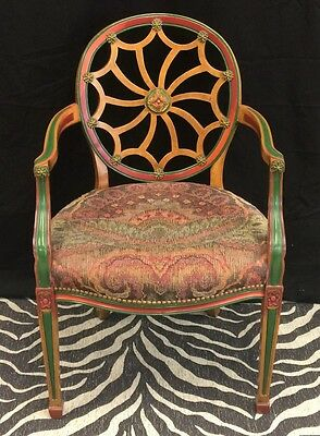 Regency Chinoiserie Armchair