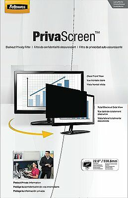 Fellowes PrivaScreen Privacy Filter 22.0-inch Widescreen 16:10