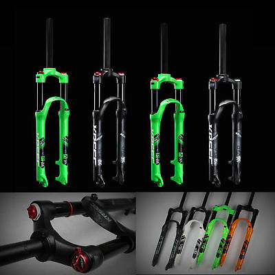 26/27.5inch Bike Fork MTB Mountain Bicycle Light Weight Air Suspension Forks HOT