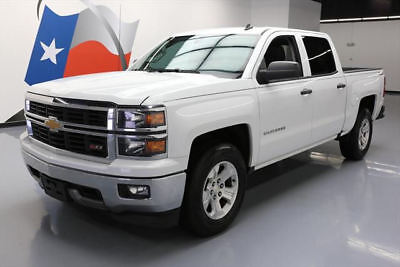 2014 Chevrolet Silverado 1500 LT Crew Cab Pickup 4-Door 2014 CHEVY SILVERADO LT CREW Z71 4X4 5.3L REAR CAM 72K #124137 Texas Direct Auto