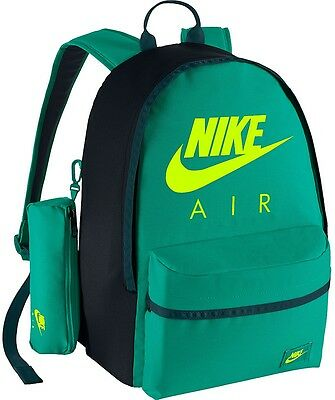 New Kids Nike Halfday Backpack Green