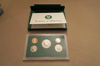 1998 US Mint Proof Set Certificate of Authenticity, Original Package COA