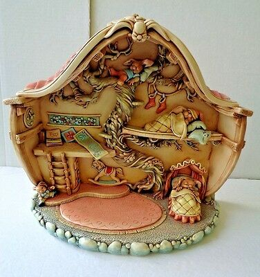 Vintage Pendelfin *the Nursery* Made In England Limited Edition 0149 Without Box