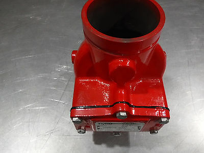 """New Tyco Fire Suppression Cv-1F Grooved End 4"""" Swing Check Valve 300 Psi"""