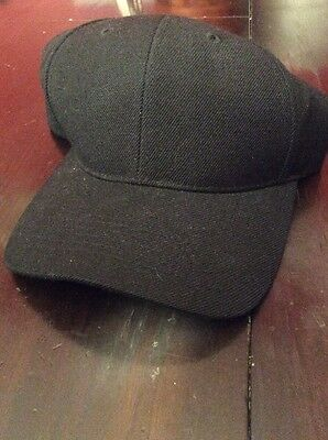 Black Baseball Hat New