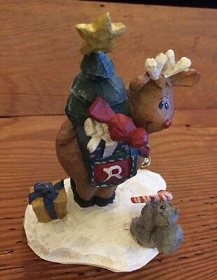 Midwest Of Cannon Falls Rudolph Figurine