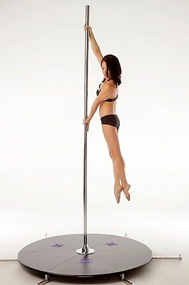 Pole Dance Pole Dancing X-Stage Lite Hi Grade Stainless Steel 45mm
