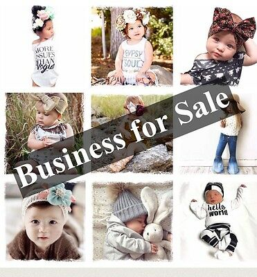 Business For Sale: Over 240 Pieces Boho Gypsy Girls And boys Clothing Wholesale