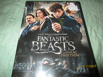 Fantastic Beasts and Where to Find Them 2 Disc SET --------------CRATE5