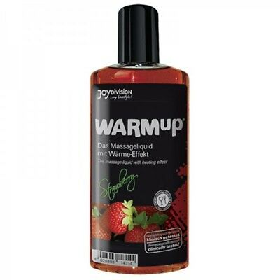 Joydivision Warm-up Strawberry Massage Öl Erdbeer 150 ml Lotion Massageöl|13