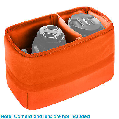 Neewer Orange Padded Partition Insert Protective Camera Bag Package Case