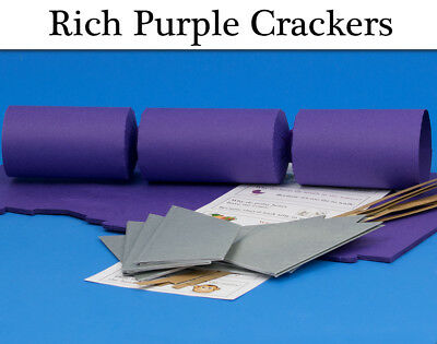 Rich Purple Make & Fill Your Own Cracker Making Craft Kits & Boards