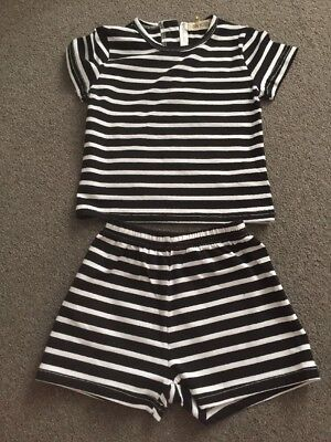 Boys Striped Short And Top Set Age 12months