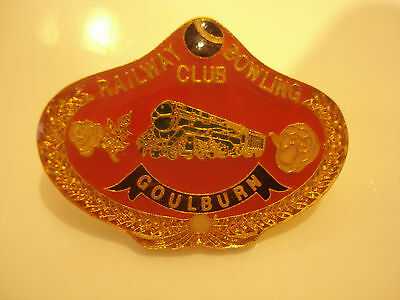 Goulburn Railway Bowling Club Badge