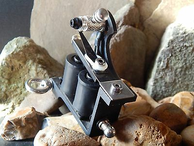 Custom Tattoo Machine  Colour Packer No6 -Used Spare Parts-Frame- Ink-Coils
