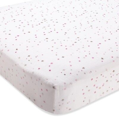 Aden+ Anais Fitted Cot Sheet Baby Cotton Muslin New Boori Sleep Gift  -  Lovey