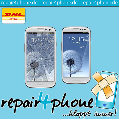 Samsung Galaxy S3 I9301 Neo Reparatur Display-Glas