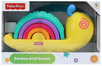 Fisher Price Rainbow Snail Stacker  Brand New In Box W9841