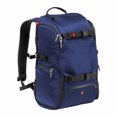 Manfrotto Advanced Travel Backpack for Camera, Blue