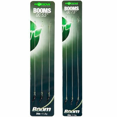 x3 KORDA READY TIED BOOM RIGS - ALL THE SIZES