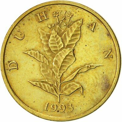 [#418657] Kroatien, 10 Lipa, 1993, VZ, Brass plated steel, KM:6
