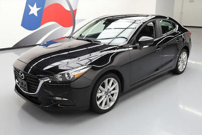 2017 Mazda Mazda3  2017 MAZDA MAZDA3 TOURING AUTO HTD LEATHER REAR CAM 12K #104737 Texas Direct