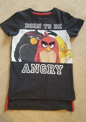 next boys angry birds tshirt 5-6 years