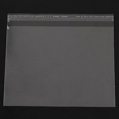 "100 Resealable Self-Sealing Bags usable space 16x13cm, (6-1/4"" x 5-1/8"") bag0086"