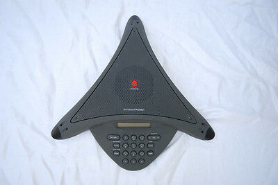 POLYCOM SoundStation Premier Full Duplex Audio Conference Phone for Larger Rooms