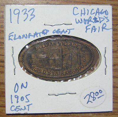 1933 Chicago World's Fair on 1905 Cent Take a Look