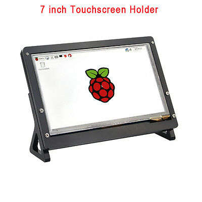 Raspberry Pi 7 inch LCD 1024 *600  Display Touch Screen Housing Bracket