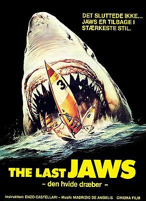 movie film Great white jaws Poster Print A3 This A Poster