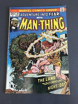 Adventure Into Fear #19 Man-Thing 1St Howard The Duck F/vf