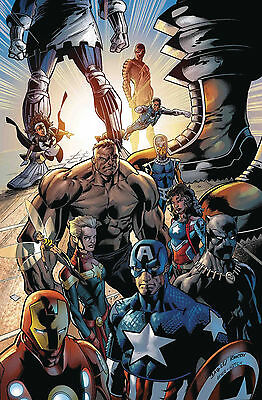 Ultimates 2 #100 Variant Cover By Mark Bagley 8/16/17