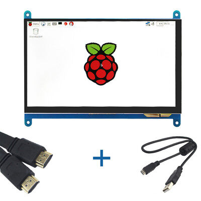 Raspberry Pi 7 inch LCD Touch Screen Module 800X480 TFT Display HDMI