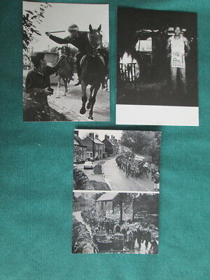 Orgrave & Rossington  Miners Strike Related Postcards + One Other Political Card