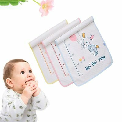 35*45cm Cotton Absorbent Cloth Mat Towel Nappy Urine Pad Diaper Changing Cover
