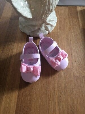 Baby Girls Shoes 9-12 Months