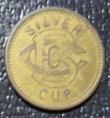Silver Cup Good For 5 In Trade Token Take a Look