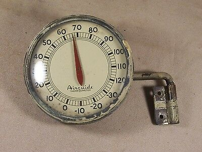 Vintage Airguide Outdoor Thermometer with Wall Mount