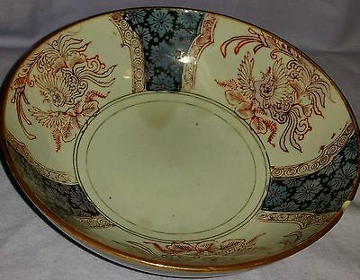 Antique Early 19Th Century Chinese Bowl Phoenix Birds & Flowers