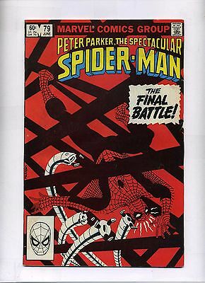 Peter Parker The Spectacular Spider-Man # 79