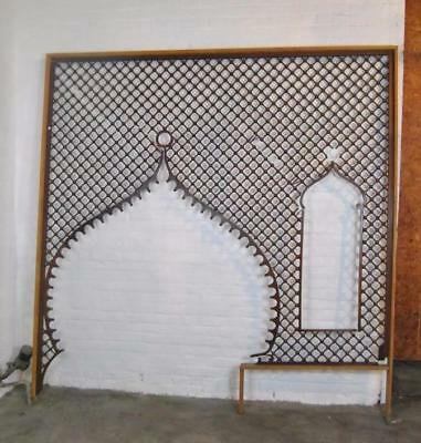 Victorian Large Entryway Cherry Ball & Stick Fretwork