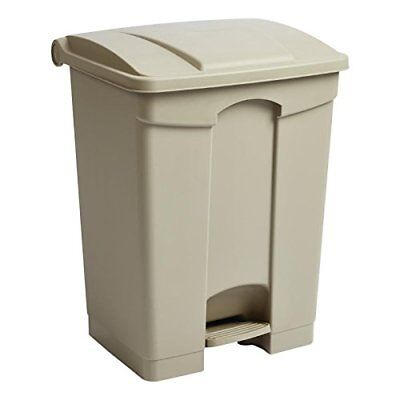 Jantex Kitchen Pedal Bin 65Ltr 660x490x400mm Waste Rubbish Dust Home Bucket