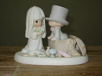 Precious Moments heaven bless your togetherness Figurine 106775