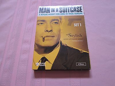 Man In A Suitcase - Dvd - Set 1 - Used 4 Discs - 15 Episodes
