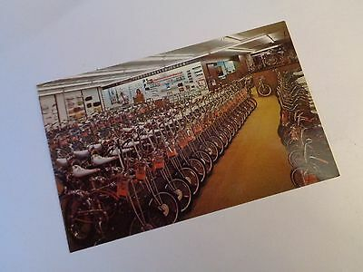 Schwinn Bicycle Shop Post Card - Original 1968 - Krates - Stingrays - BIKES